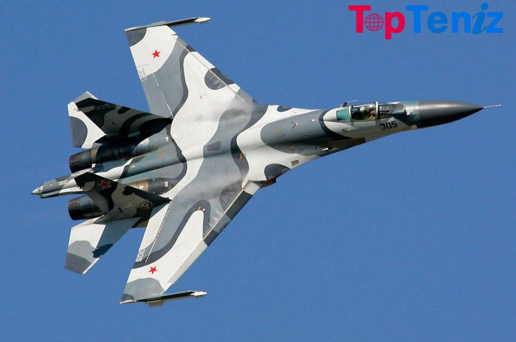 Sukhoi Su-27 Top 10 Fastest Aircrafts in the World