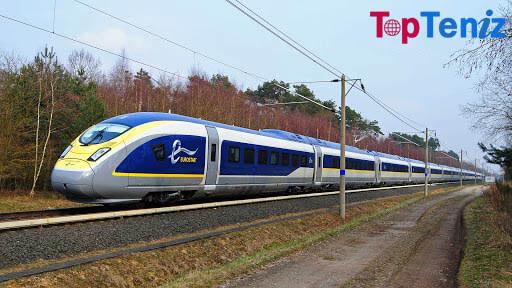 Eurostar e320 and TGV 200 mph