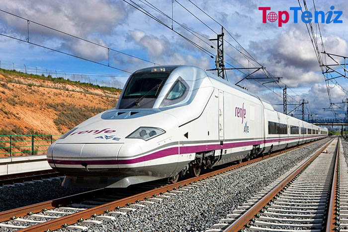 Renfe AVE 217 mph