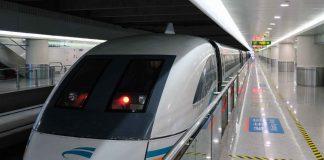 Shanghai Maglev 267 mph